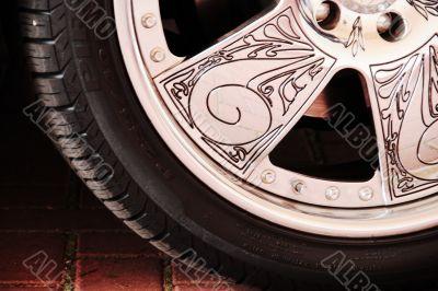 Car aluminimun wheel