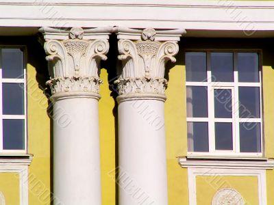 Replica of an Ancient Column Pillar