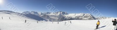 Panorama - Ski vacation in Alpes
