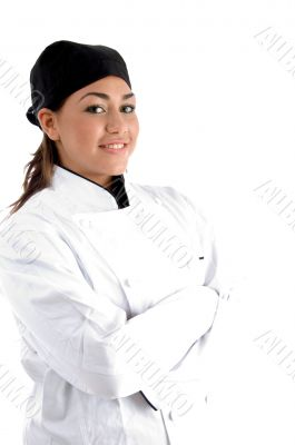 posing smiling chef