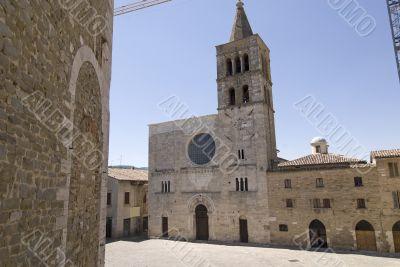 Bevagna - The medieval Silvestri Square