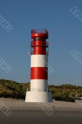 The lighthouse of Helgoland