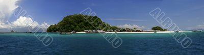 Khai Nok Island Panorama
