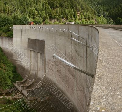 Dam Okertalsperre, Harz, Germany