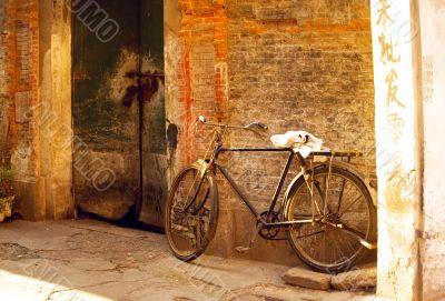 shanghai old bicycle