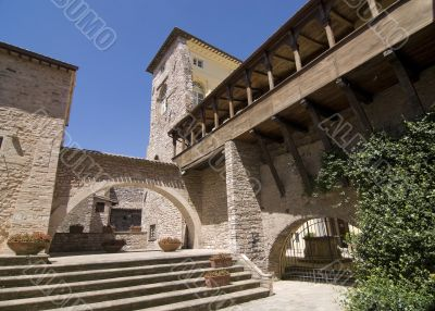 Spello - Ancient palace with gallery