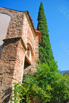 monastery are in Bachkovo. Detail