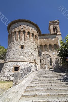 Corciano (Perugia), medieval village