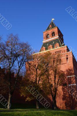 Brick tower