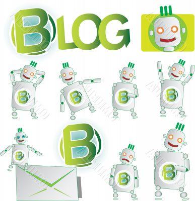Mascot for blog