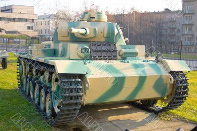 The T3 Medium Tank. Germany.