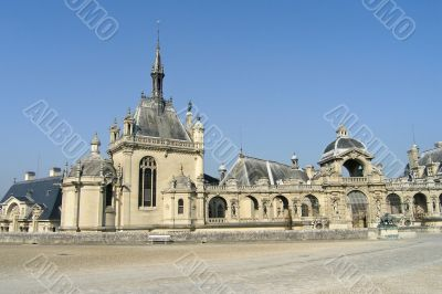 Chateau de Chantilly near Paris