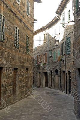 Abbadia San Salvatore - Medieval street