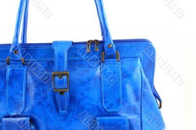 Azure handbag