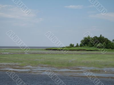 low tides ocean
