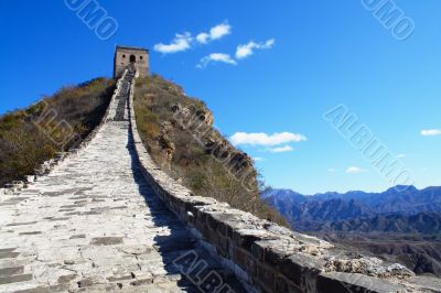 Great Wall into the sky