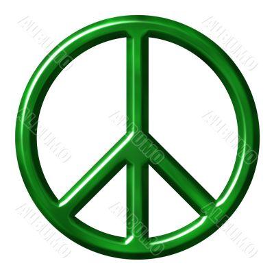 Ecological peace symbol