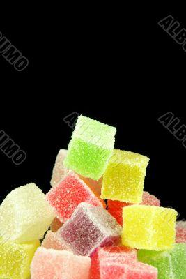 Sugar jelly cubes