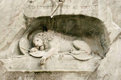 the Lion of Lucern