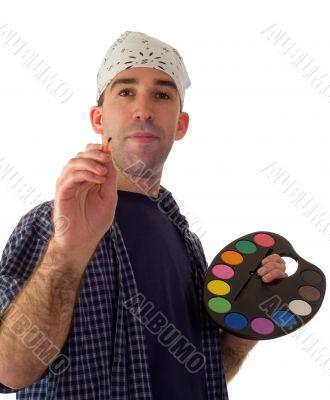 Male Painter