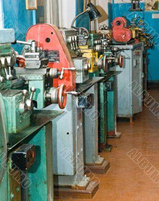 lathe workshop