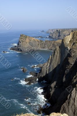 Eastern Atlantic coast of Portugal