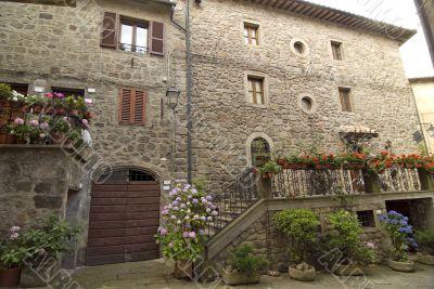 Piancastagnaio (Siena) - Old houses
