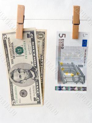 Comparison of exchange rates