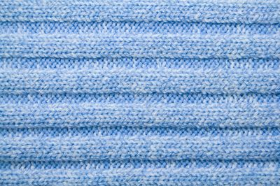 blue woolen pattern