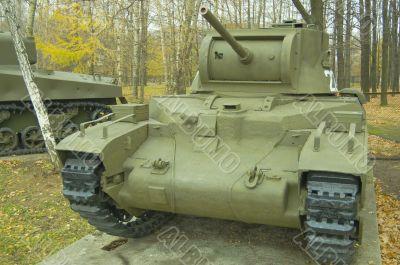 The Matilda3 Medium Tank.
