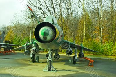 The SU22 Fighter-Bomber.
