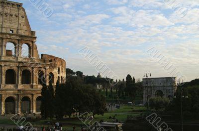 Coliseum square