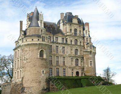 Majestic medieval castle
