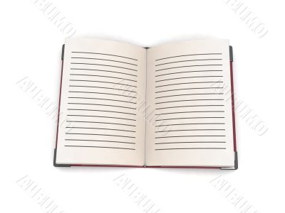 three dimensional open book