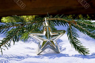 Star with branch