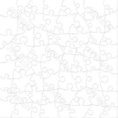 Empty Psychedelic Puzzle