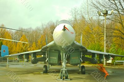The MIG29 Operational Multipurpose Fighter.