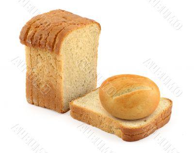 bun and toast bread