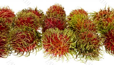 Rambutan, exotic fruit