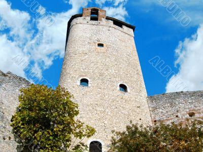 The mast of Avio castle