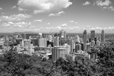 Montreal in black and white
