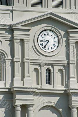 French Quarter Clock