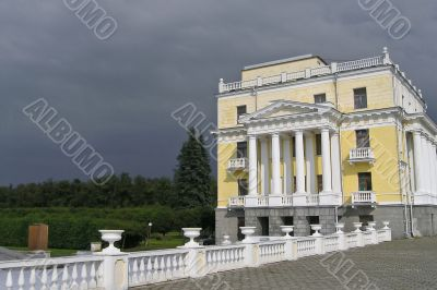 Russian majestic manor near Moscow