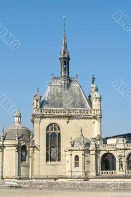 Chantilly castle near Paris