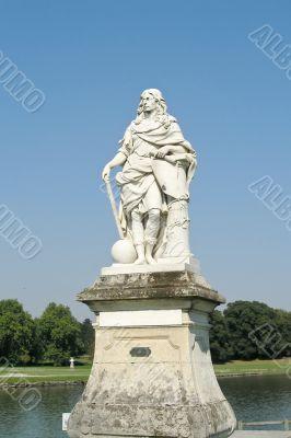 Monument in Chantilly castle near Paris