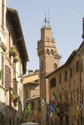 Buonconvento (Siena) - Historic buildings