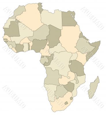 Mapof Africa