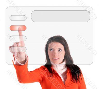 Modern touchscreen