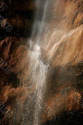 Waterfall in Waterfall canyon