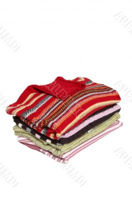 Stack of wonderful sweaters.